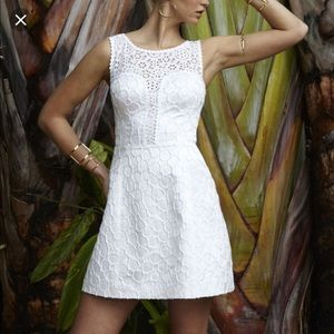 Lilly Pulitzer Raegan Fit and flare lace dress